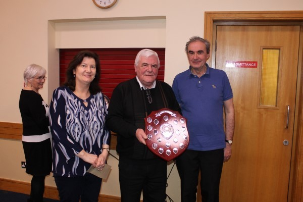 1st St Judes Trophy Philomena Stapleton and Paul Derham