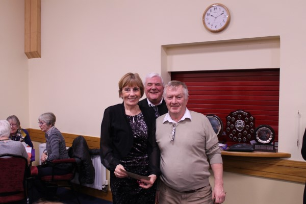 2nd St Judes Trophy Marie Kennedy and Sean Fletcher