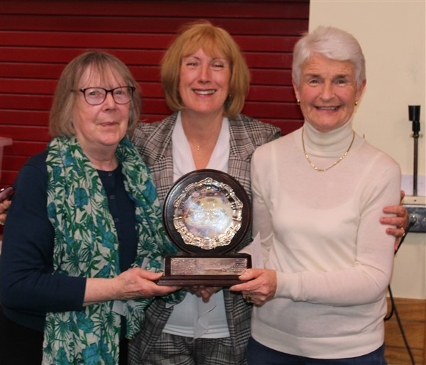 Winners of the AIB Trophy ~ Betty Hardiman and Ita Newell