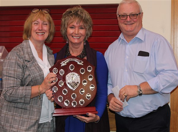 Winners of the Inter A Trophy ~ Frances and Peter Heffernan