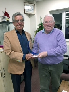 Bob Green Wins The 2017 Sunil Handa Trophy