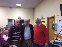 Joe Moran with Dan McCellion and Cyril Mahon