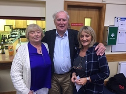 Joe Moran with Jill Kulchycky and Valarie Burke Moran