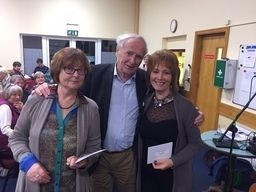 Joe Moran with Nolette Hanrahan Marian McGuinness