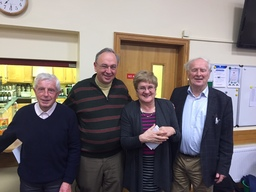 Martin Keane Willie Kearney Brenda Moran and Joe Moran