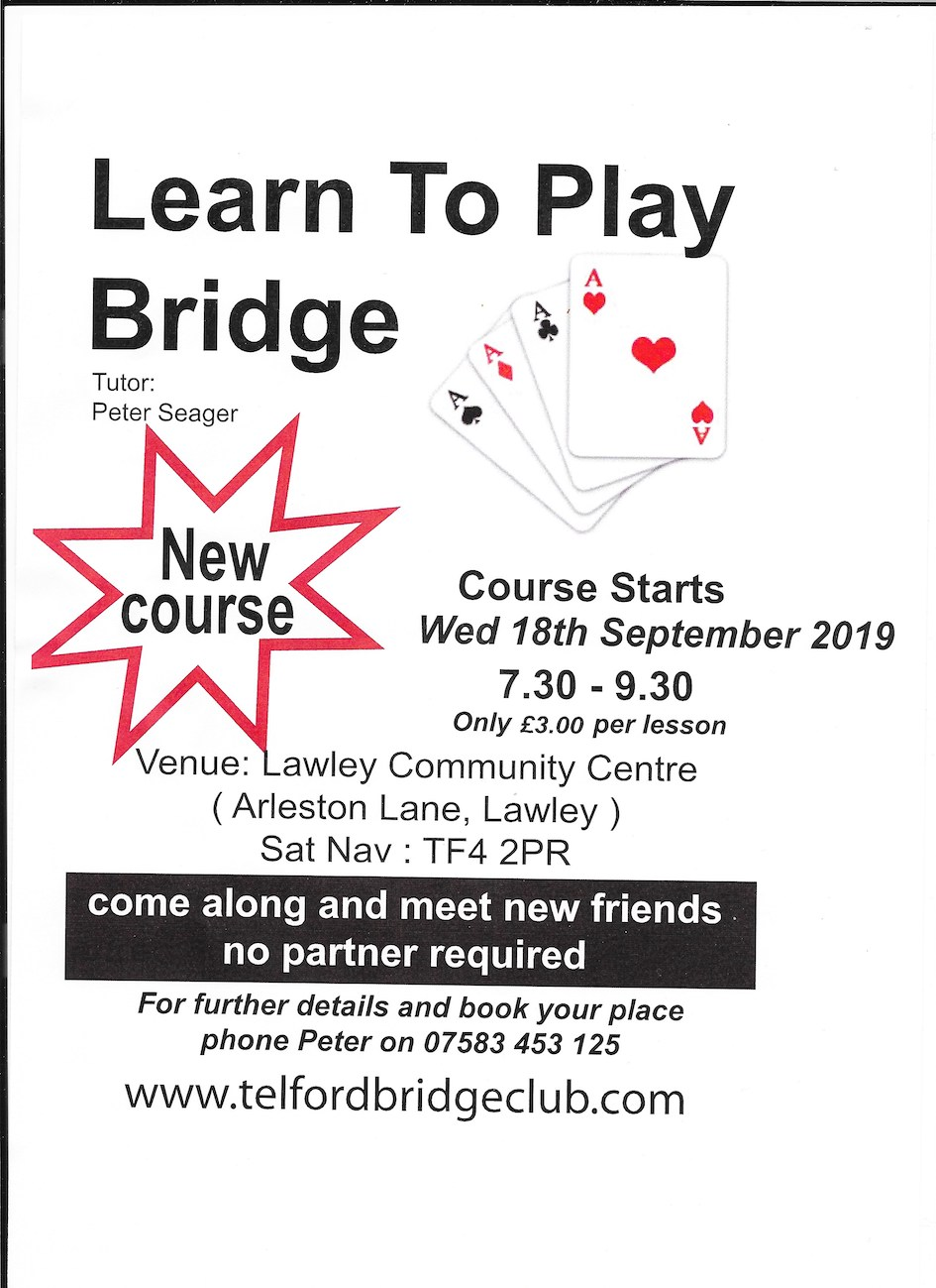 New Course in September 2019