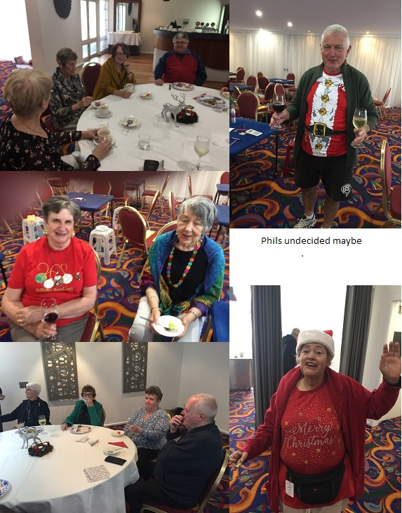Christmas party photos Tues 5th Dec
