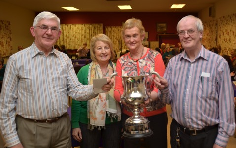 Winners of Dr Mulhern Perpetual Trophy 2014