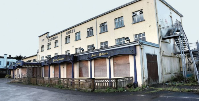 Warwick Hotel - sad memories for Tribes Bridge Club members who remember the early years of the club!