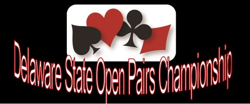 DELAWARE OPEN PAIRS CHAMPIONSHIP NOVEMBER 10 1018