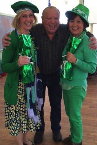 St Pat's Party 2015 Greenest Pair