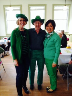 St. Pat's Day 2014 Party Greenest Pair/Individual Player