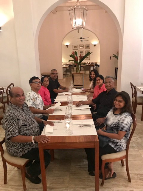 VBC Players at Galle Fort  -  October 2019