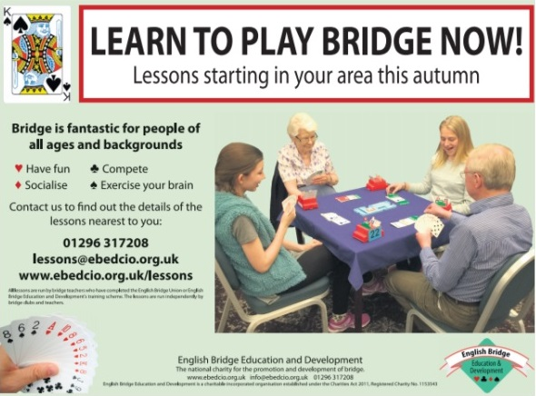 Want to Learn to Play Bridge?