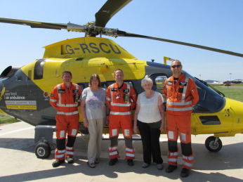 Warwickshire Air Ambulance Visit - June 2016