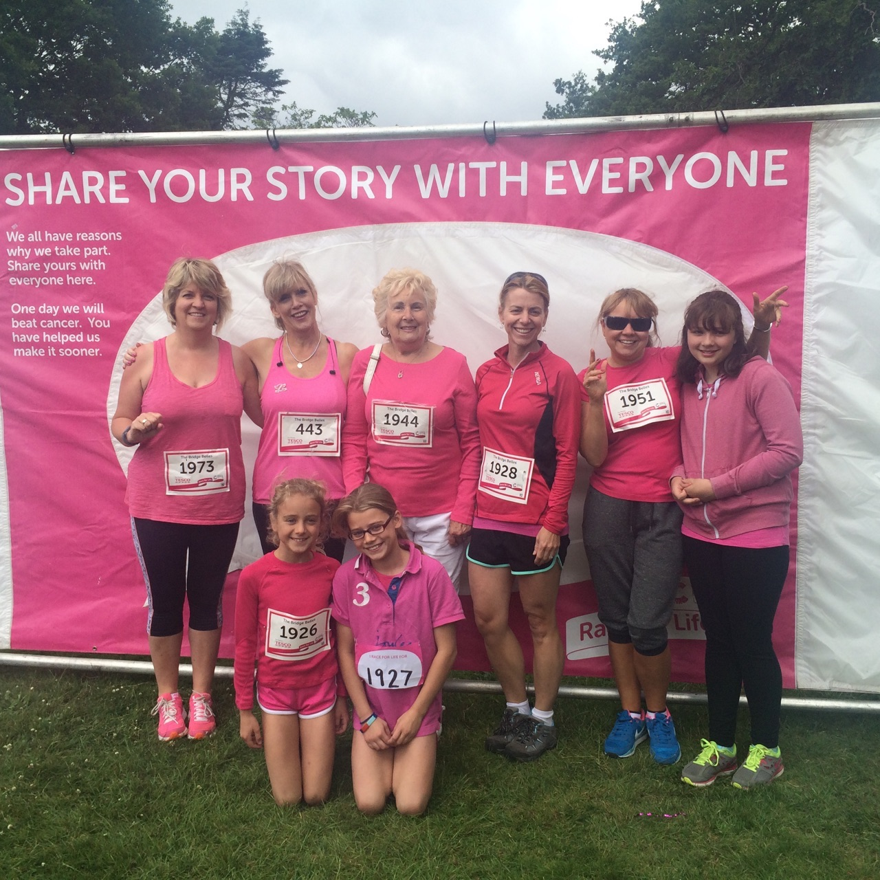 Race for Life - West Midlands Bridge Belles