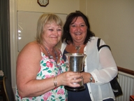 Area Ladies' Pairs Winner